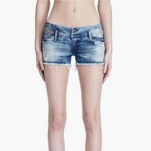 Deisel 'Mintha' Distressed Denim cutoff shorts